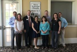 Sea Island Bank hosts April Meeting