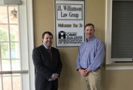 JL Williamson Law Group hosts May Meeting