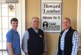Howard Lumber hosts February Meeting