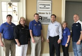 Citizens Bank of Bulloch County hosts March Meetings