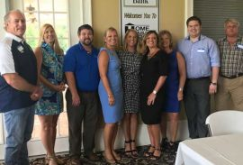 Renasant Bank hosts August Meeting