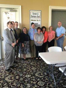 Farmers & Merchants Bank hosts October Meeting