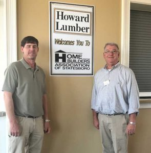 Howard Lumber Feb Sponsor