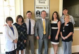 Morris Bank hosts October Meeting