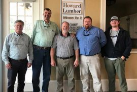 Howard Lumber hosts February Meeting